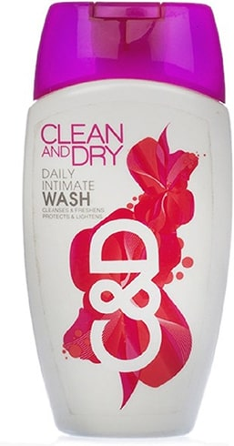 Clean and Dry Daily Intimate Wash