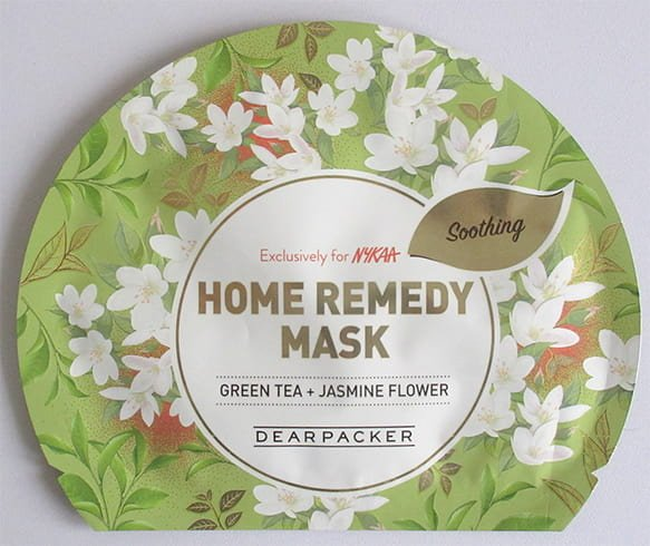 Dear Packer Green Tea and Jasmine Sheet Mask