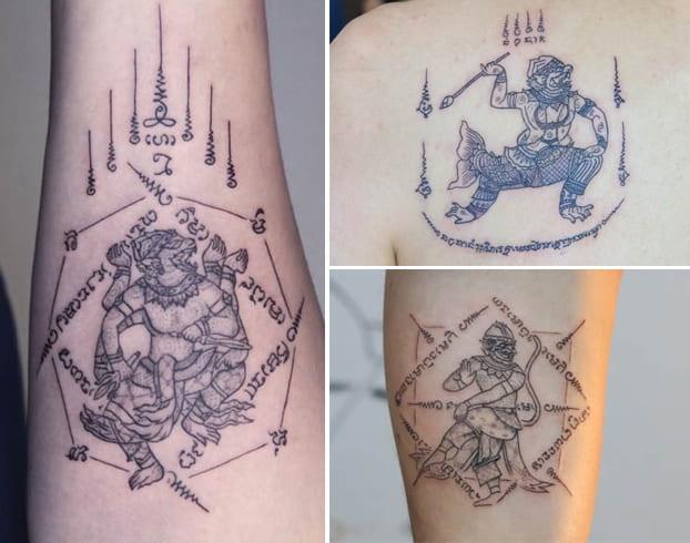 Hanuman Yant Tattoo