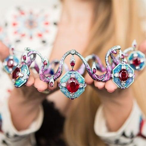 Multi-colored Statement Necklace