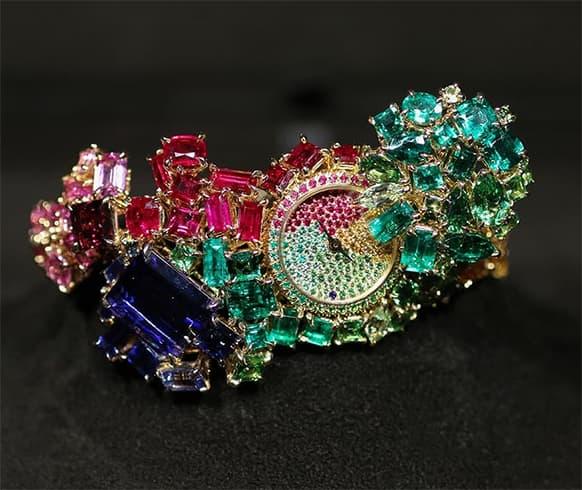 Multi-Stone Watch