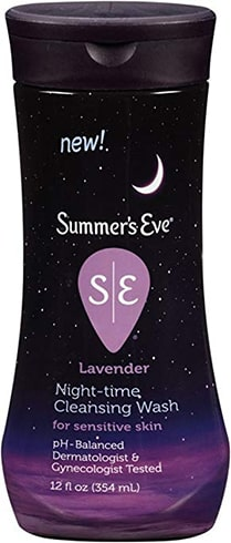 Summers Eve Night-Time Cleansing Wash