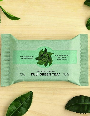 The Body Shop Fuji Green Tea Exfoliating Soap