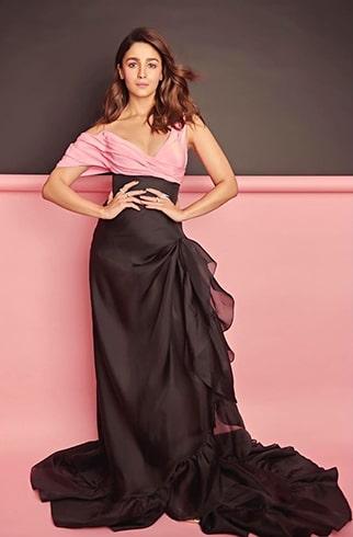Alia Bhatt at Filmfare Glamour and Style Awards 2019