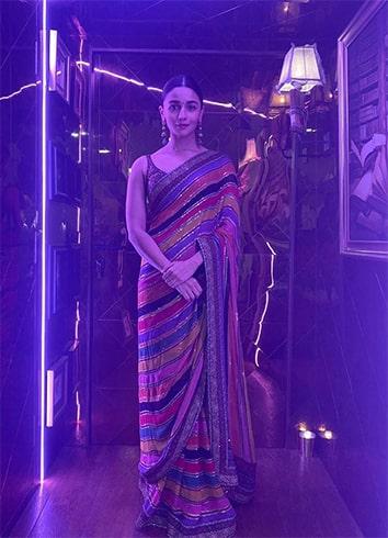 Alia Bhatt At Star Screen Awards 2019