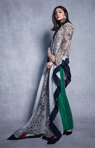 Anushka Sharma at Vogue Nykaa Fashion Awards
