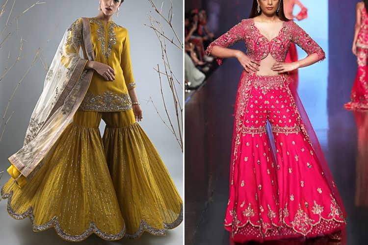 Best Designer Sharara Suit