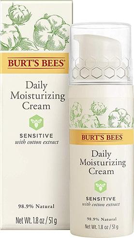 Burts Bees Sensitive Daily Moisturizing Cream