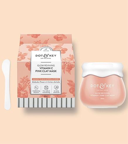 Dot and Key Glow Reviving Vitamin C Pink Clay Mask