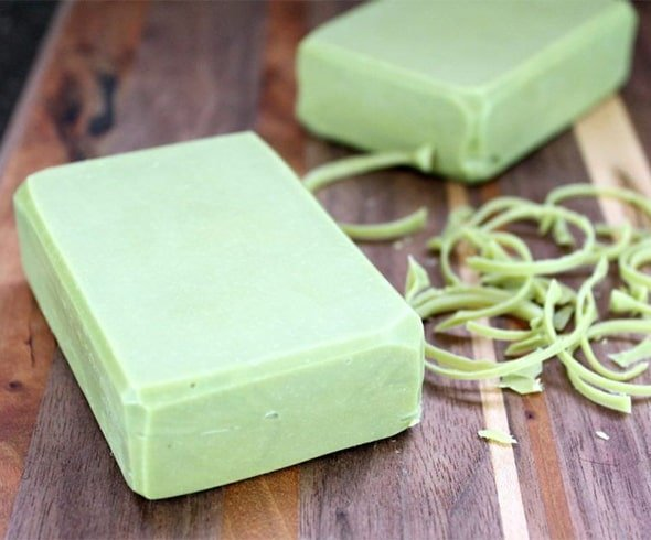 Homemade Aloe Vera Soap with Neem Oil