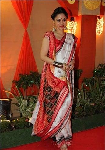 Khadi Silk Bengali Saree