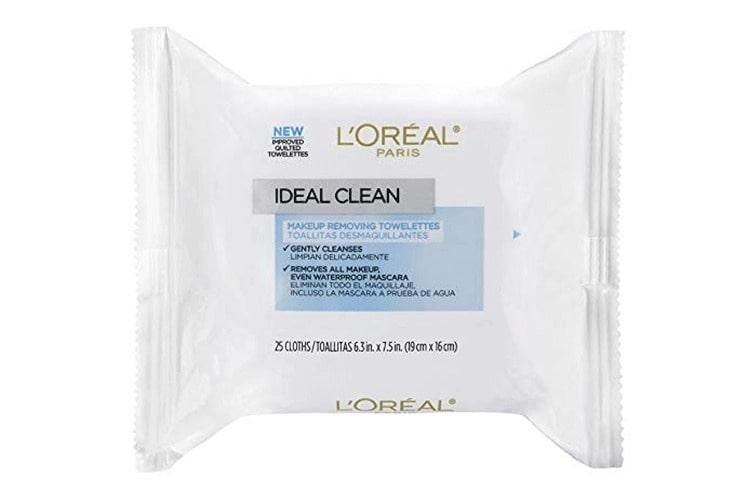 loreal parisl skin make up towelettes