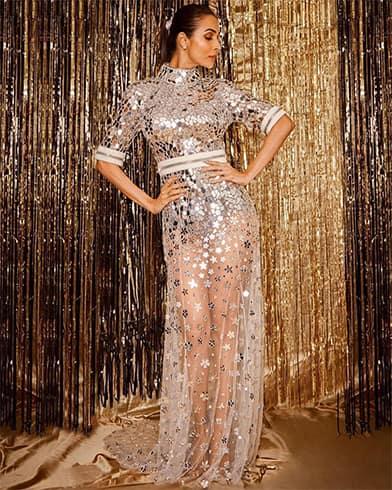 Malaika Arora at Filmfare Glamour and Style Awards 2019