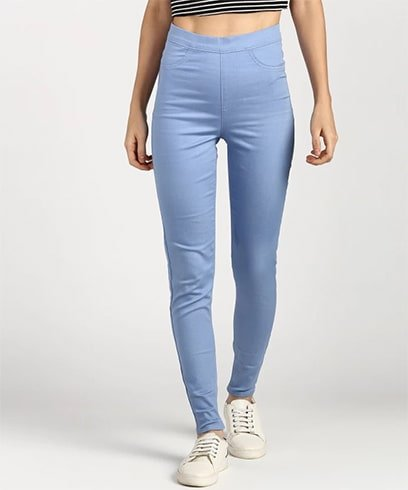 Marks and Spencer Blue Jeggings