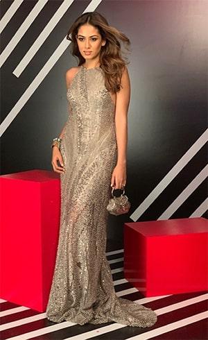 Mira Kapoor at Vogue Nykaa Fashion Awards