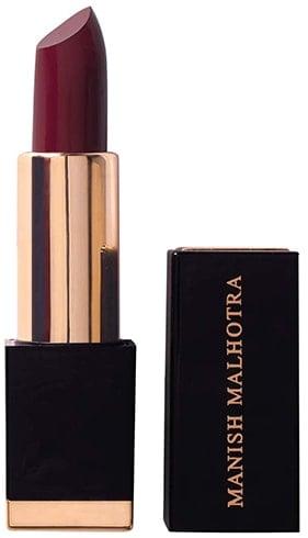 MyGlamm Manish Malhotra Hi-Shine Lipstick in Vintage Wine