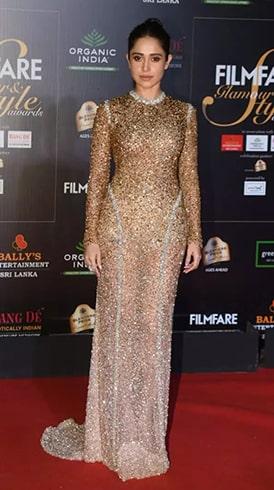 Nushrat Bharucha at Filmfare Glamour and Style Awards 2019