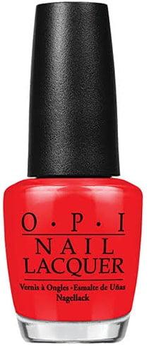 O.P.I Nail Lacquer Big Apple Red