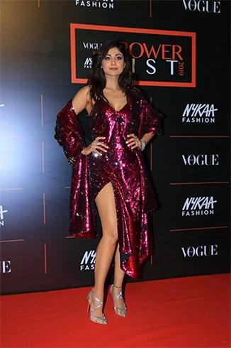 Shilpa Shetty at Vogue Nykaa Fashion Awards