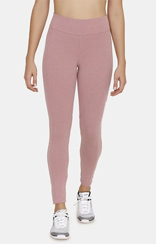 Zelocity by Zivame Pink Flex Leggings