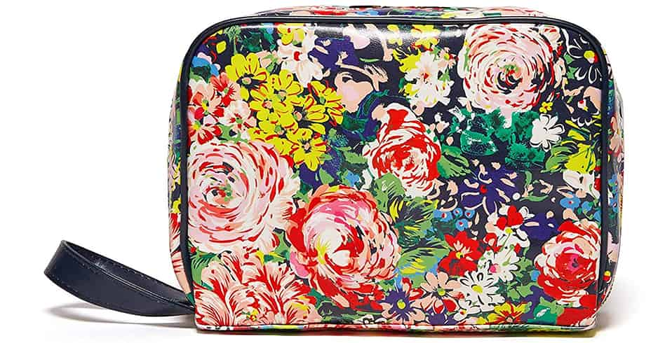 bando floral makeup case