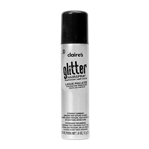 claire's glitter hairspray