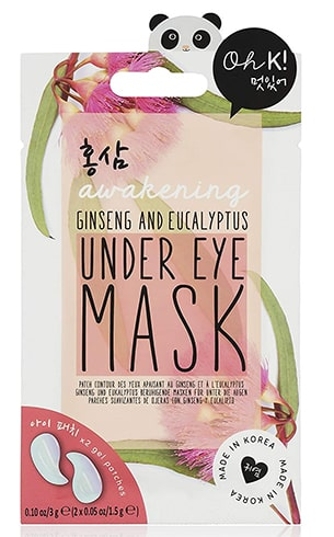 eucalyptus under eye mask
