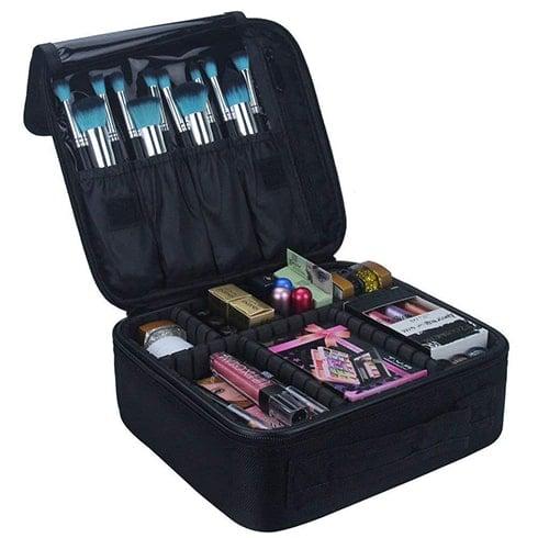 inovera professional makeup organizer bag
