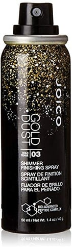 jaico gold dust shimmer finishing spray