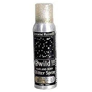 jerome russell gold silver glitter spray