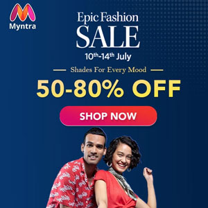 Myntra Sale Coupons